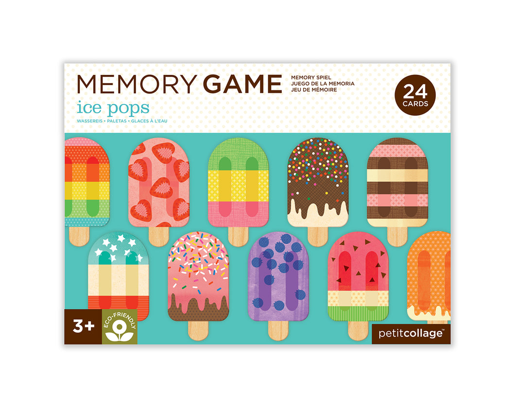 Ice pops - Memory Game