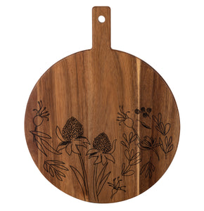 Mischa Round Serving Board 43x34cm