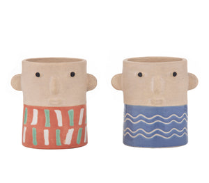 Bill & Ben Planters 2 Assorted 13cm