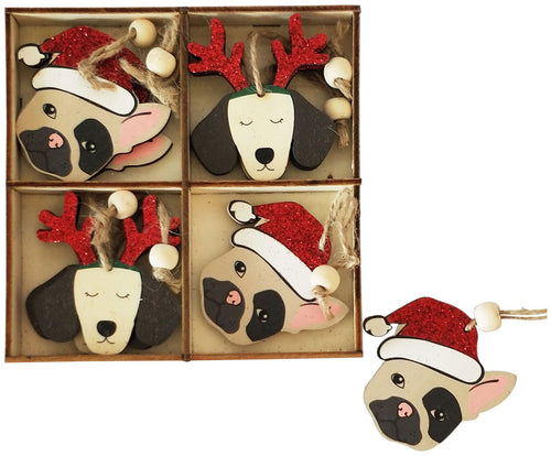 Dog Gift Box Decoration