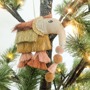 Elephant Tassel Hanging Decoration