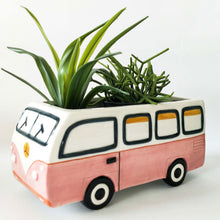Load image into Gallery viewer, Retro Kombi Planter - Pink