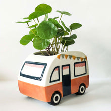 Load image into Gallery viewer, Retro Van Planter - Terracotta