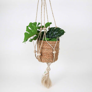 Jute Bobble Hanging Planter