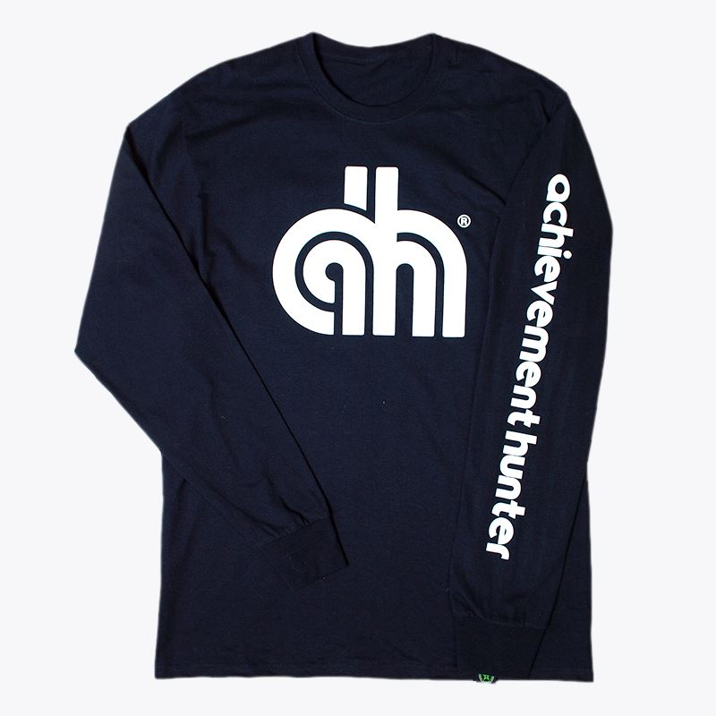 Achievement Hunter AH Lines Long Sleeve T-Shirt