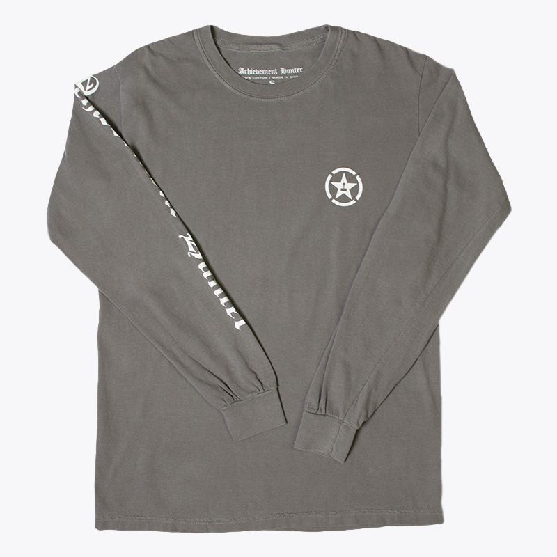 Achievement Hunter Distressed Long Sleeve T-Shirt