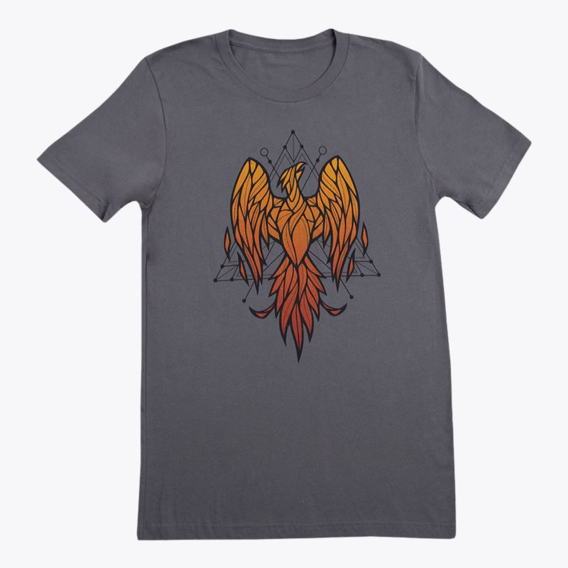 Barbara Dunkelman Flameous Last Birds T-Shirt