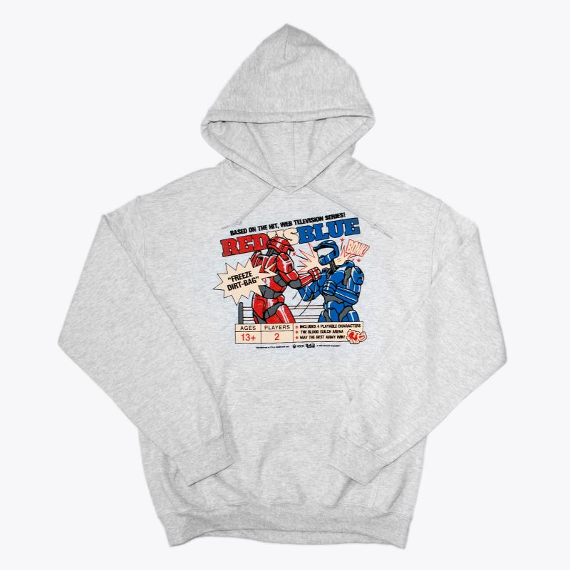 Red vs Blue Knockout Pullover Hoodie