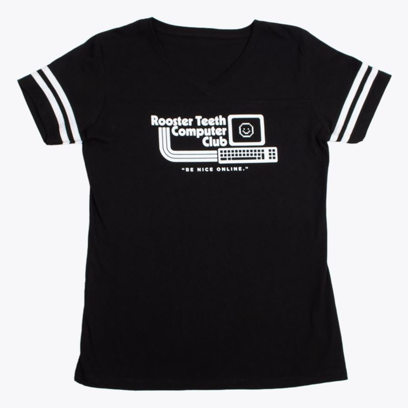 Rooster Teeth Computer Club Women's T- Shirt