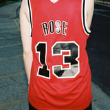 RWBY Ruby Rose Basketball Jersey