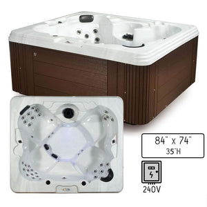 Belize Classic C-400: 5-Person 40-Jet Spa