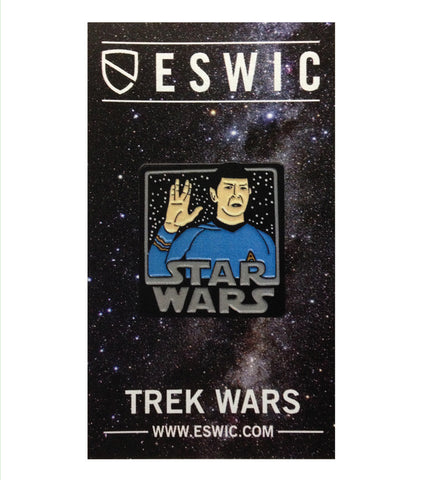 TREK WARS PIN