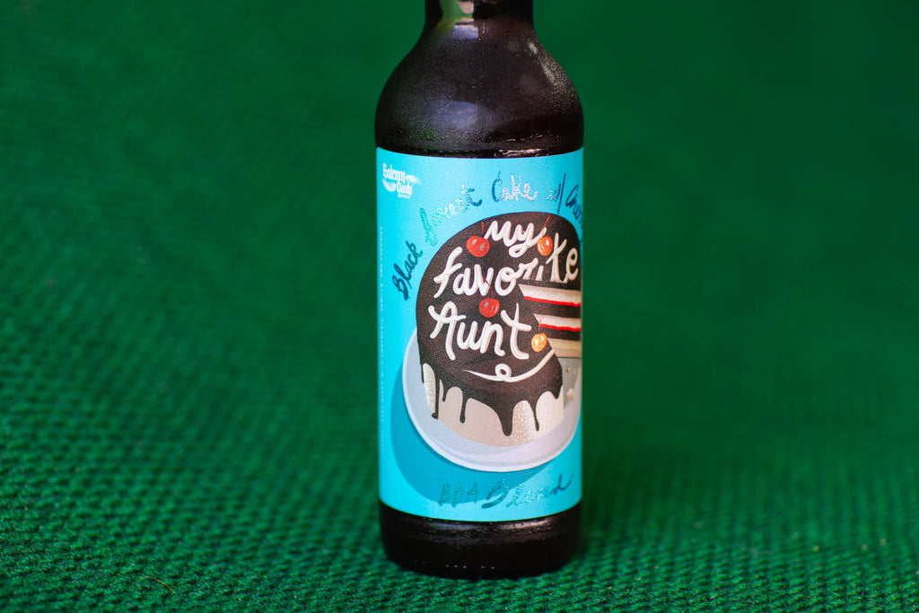 My Favorite Aunt: Black Forest Edition 22oz bomber