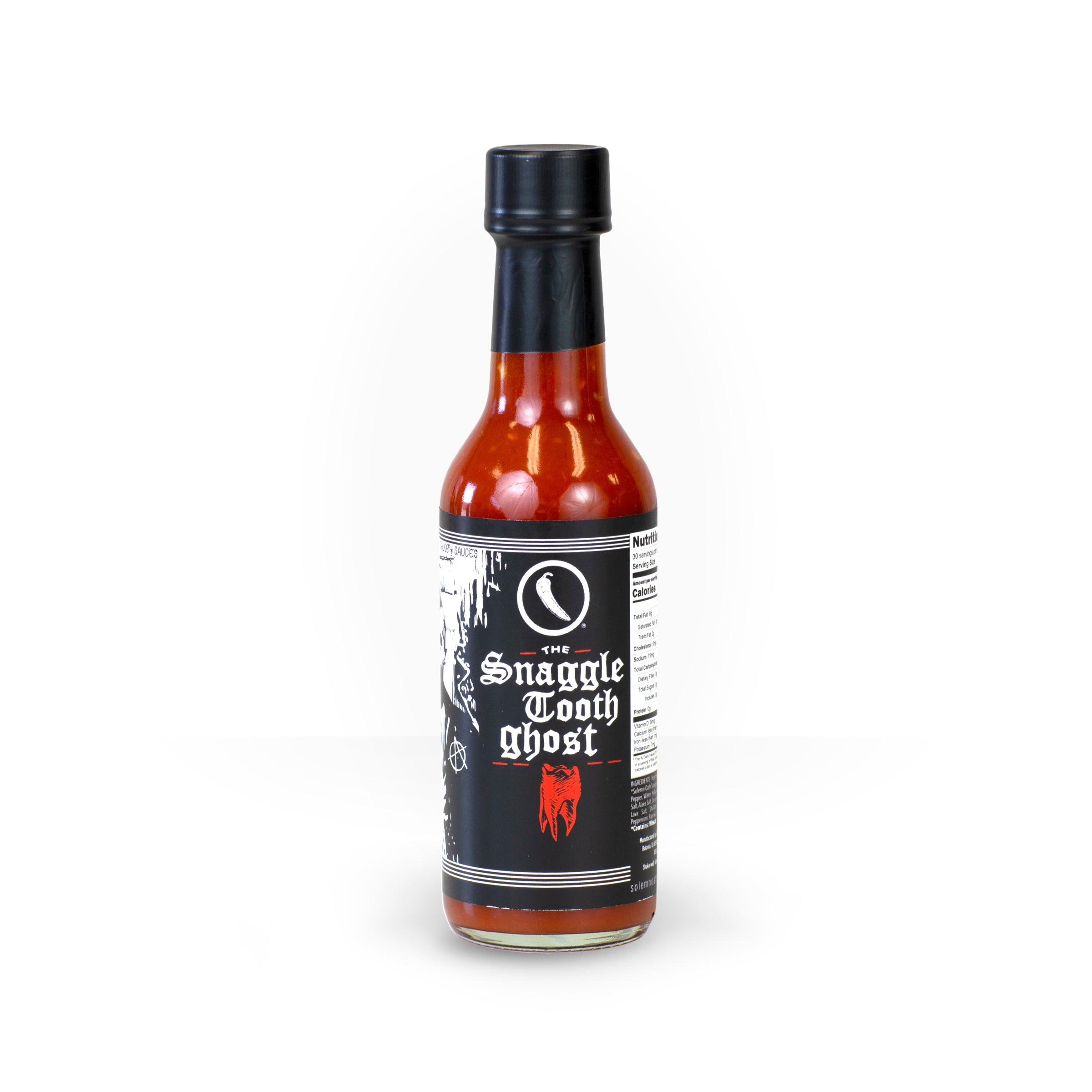 Snaggletooth Ghost Hot Sauce