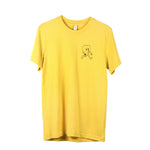 Yellow Happy Heart Tee