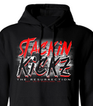 Black/Red Resurrection Hoody