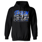 Black/Royal Resurection Hoody