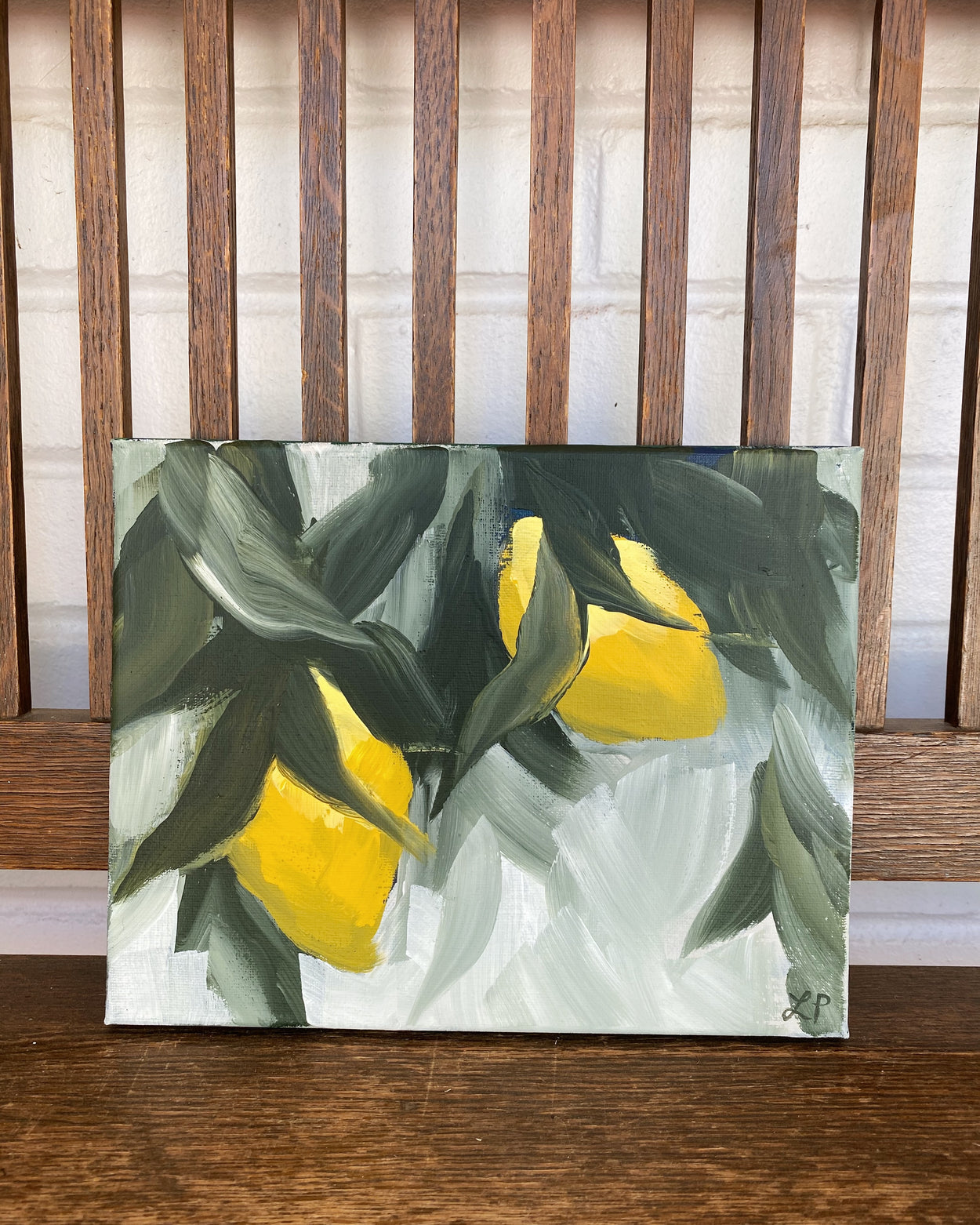 Lemon and Leaves II
