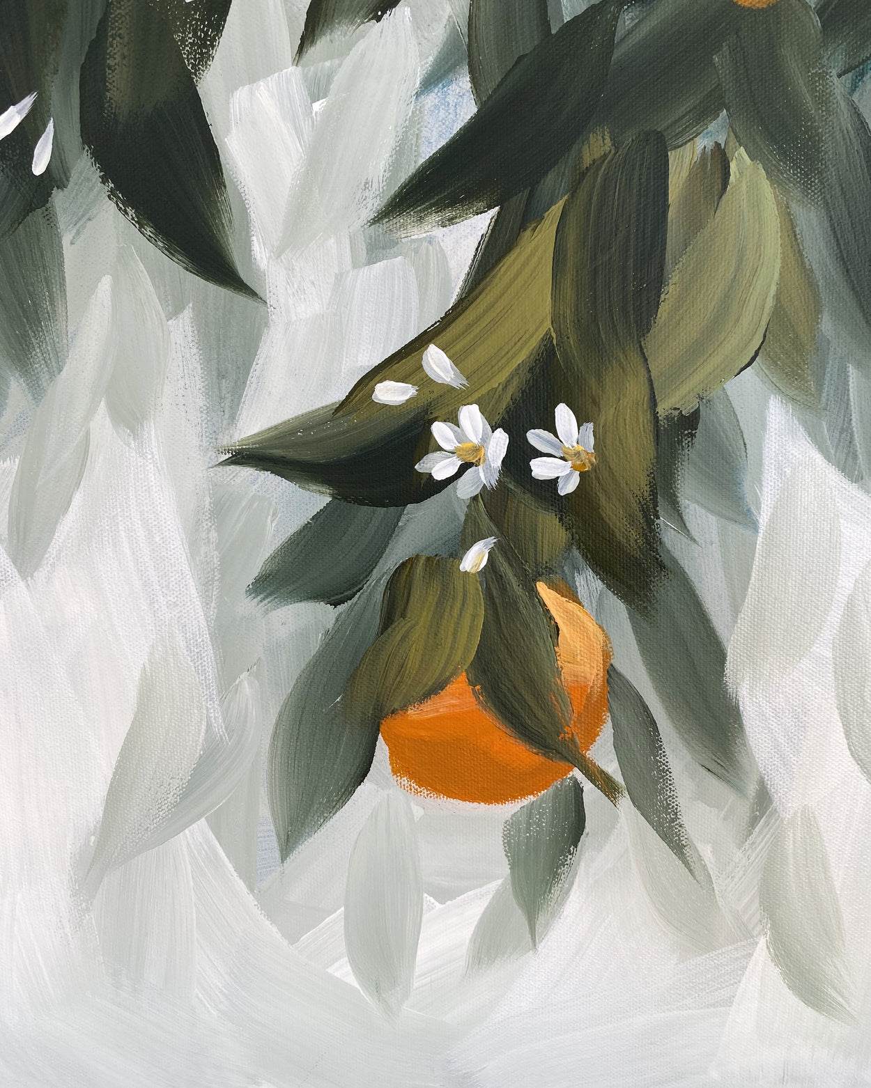 Oranges and Blossoms III
