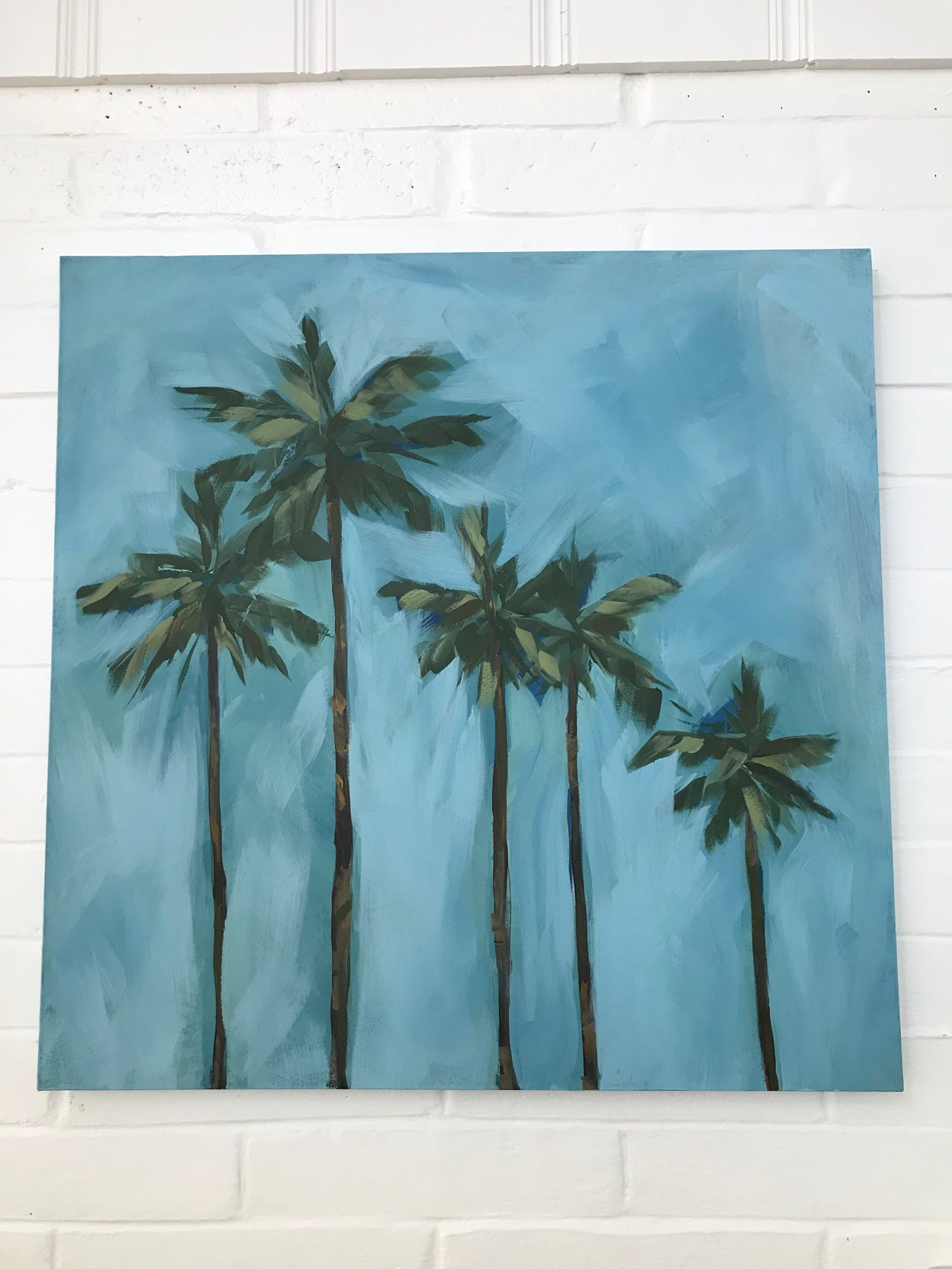 Five Palms (Gallery Wrapped)