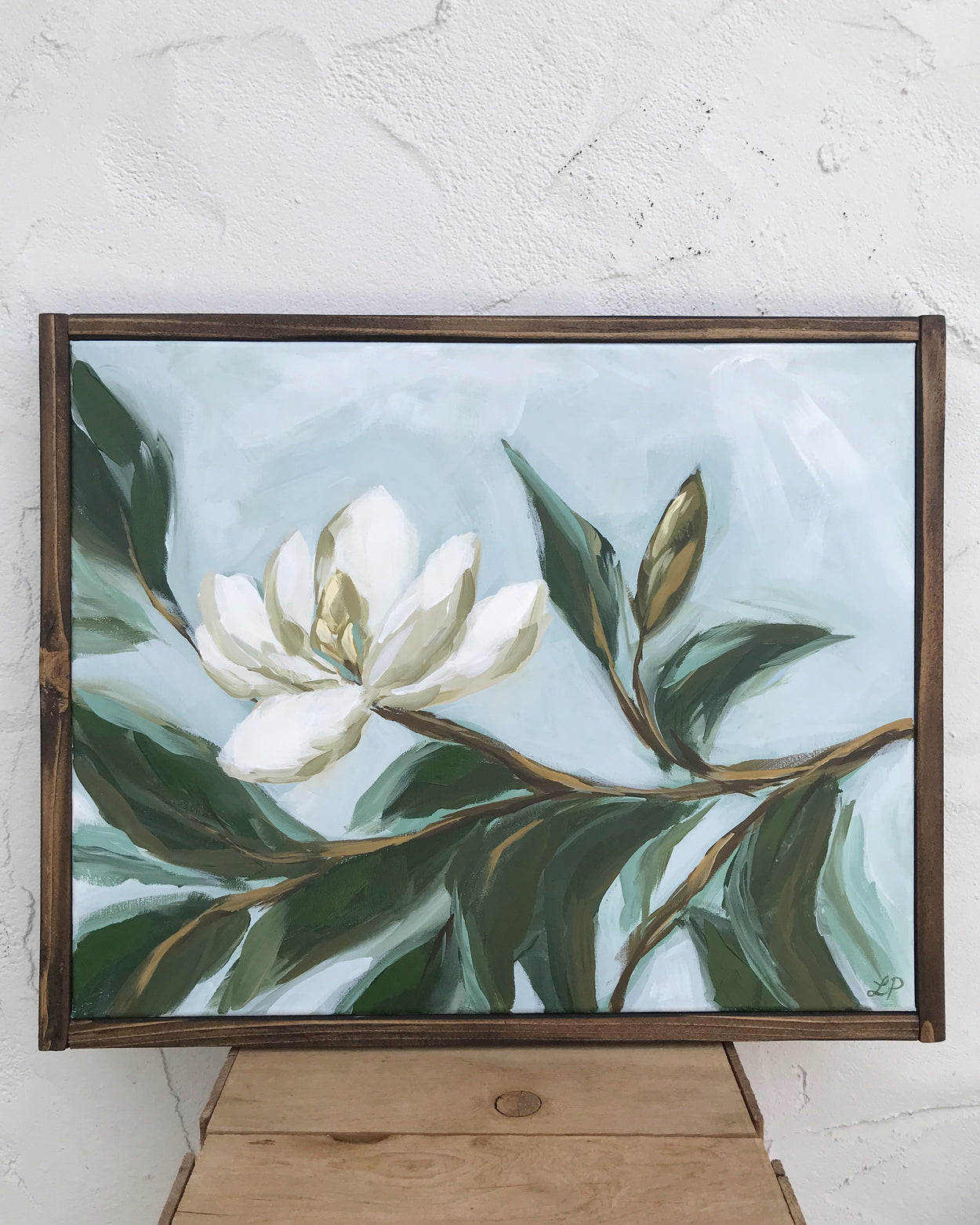 Magnolia and Bud