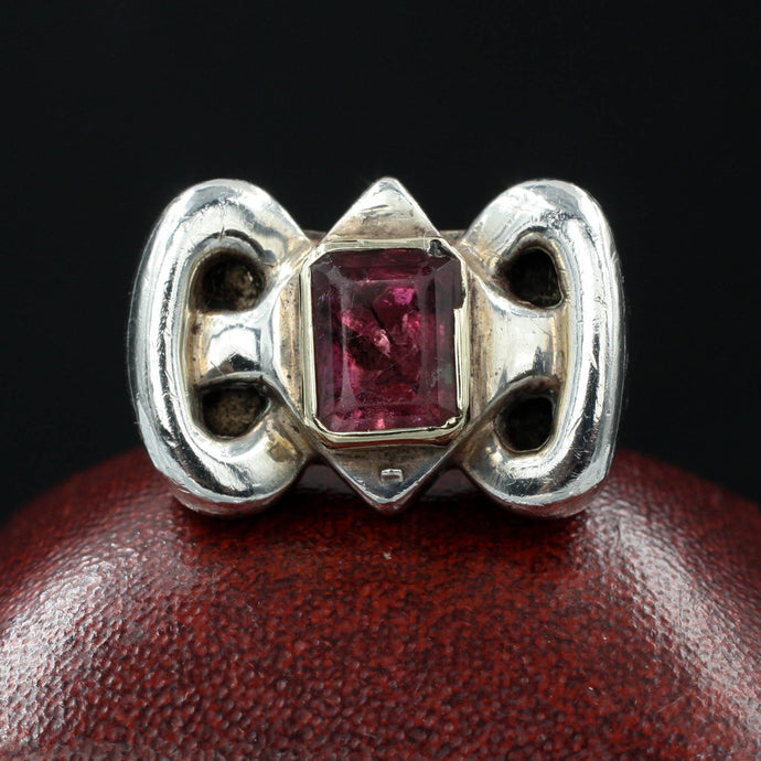 Statement Pink Tourmaline Ring