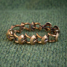 Gold-Filled Retro Design Bracelet c1930