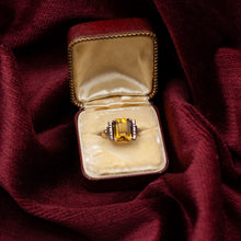 Handmade Citrine Ring c1930