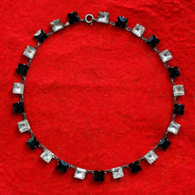 Art Deco Czech Glass Choker c1930
