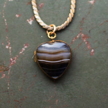 Victorian Banded Agate Locket