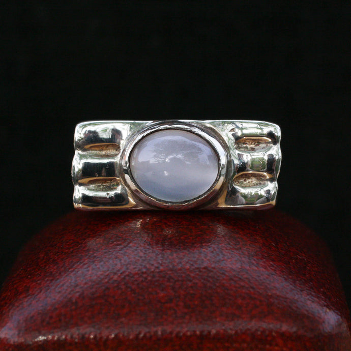 Bold Moonstone Cabochon Ring