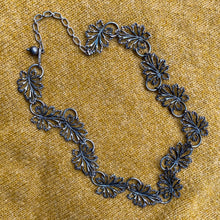 Silver Leaves Necklace c1950