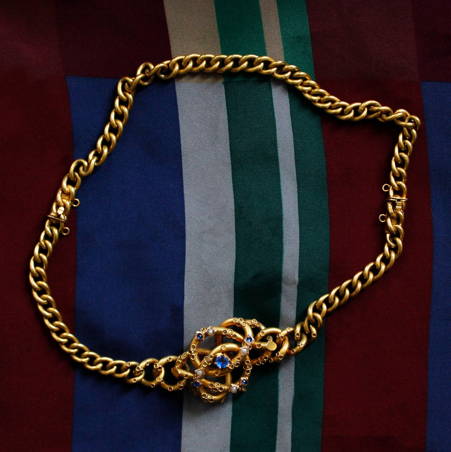 Victorian Double Bracelet to Necklace c1850