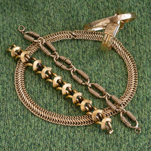 Thick Flat Gold-filled Choker Chain c1950