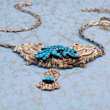Victorian Turquoise Fantasy Necklace c1840