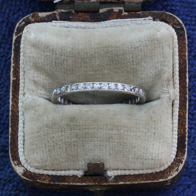 Vintage Half Eternity Band