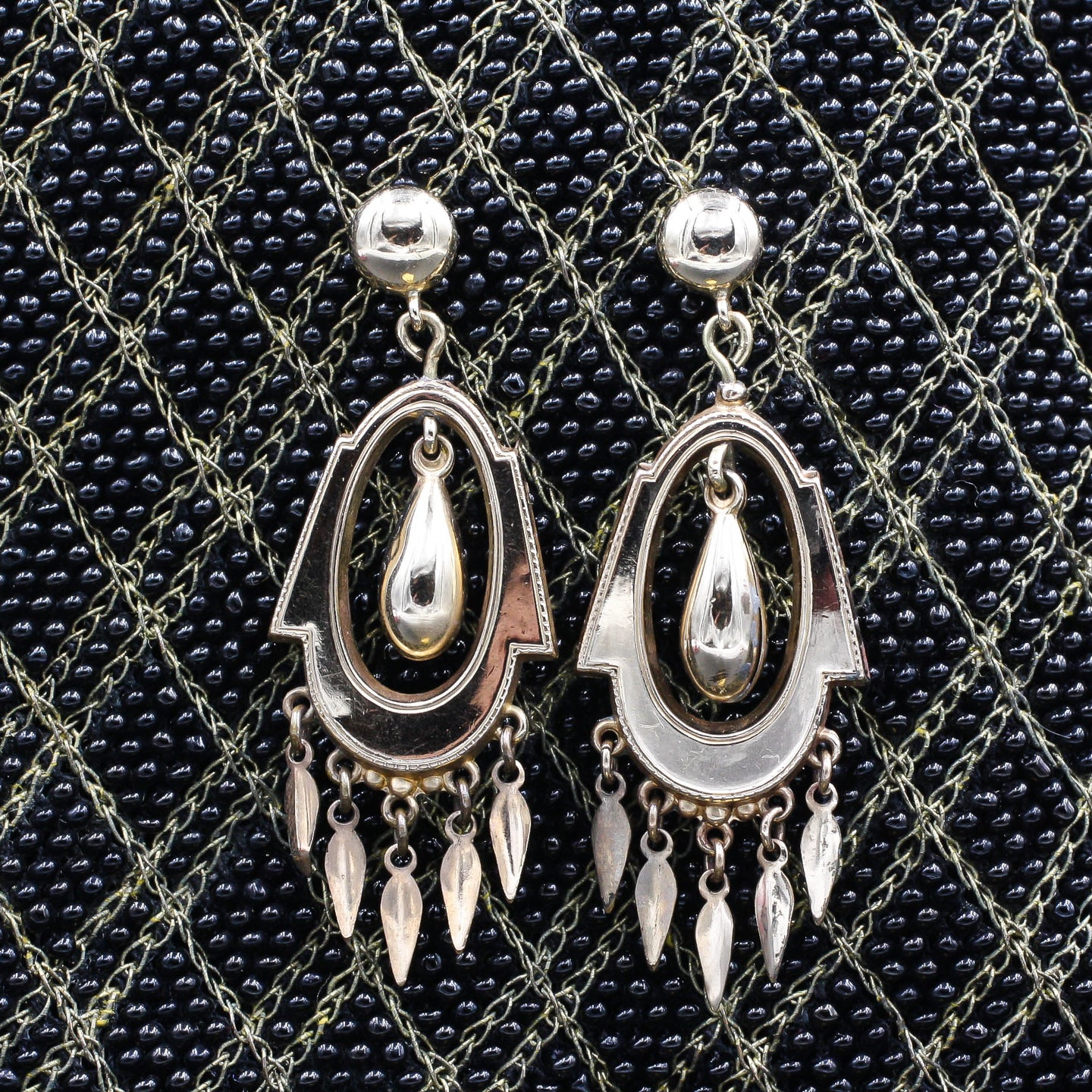 Victorian Drop Earrings c1870