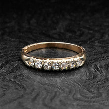 Gold Seven Diamond Band
