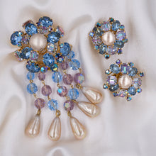 Christian Dior Brooch and Earrings Set c1958