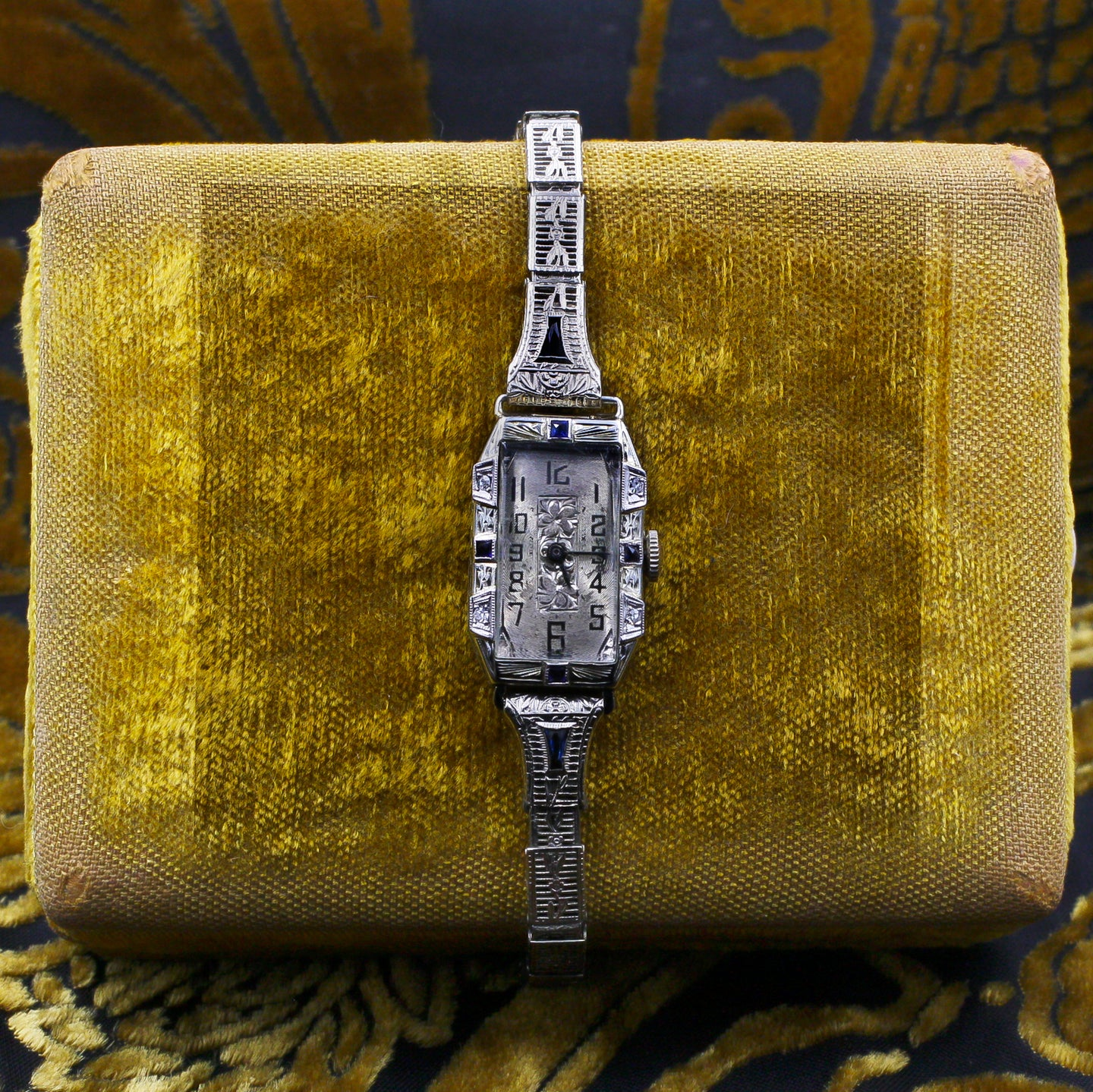 Art Deco Platinum Watch c1920