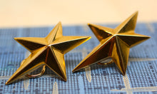 18K Gold 'Angela Cummings' Star Earrings