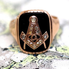 Mid 19th Century Masons Ring
