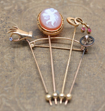 Stick Pin Brooch