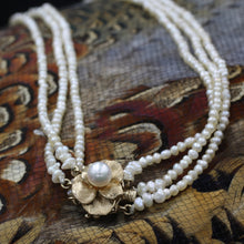 19th Century Natural Pearl Necklace