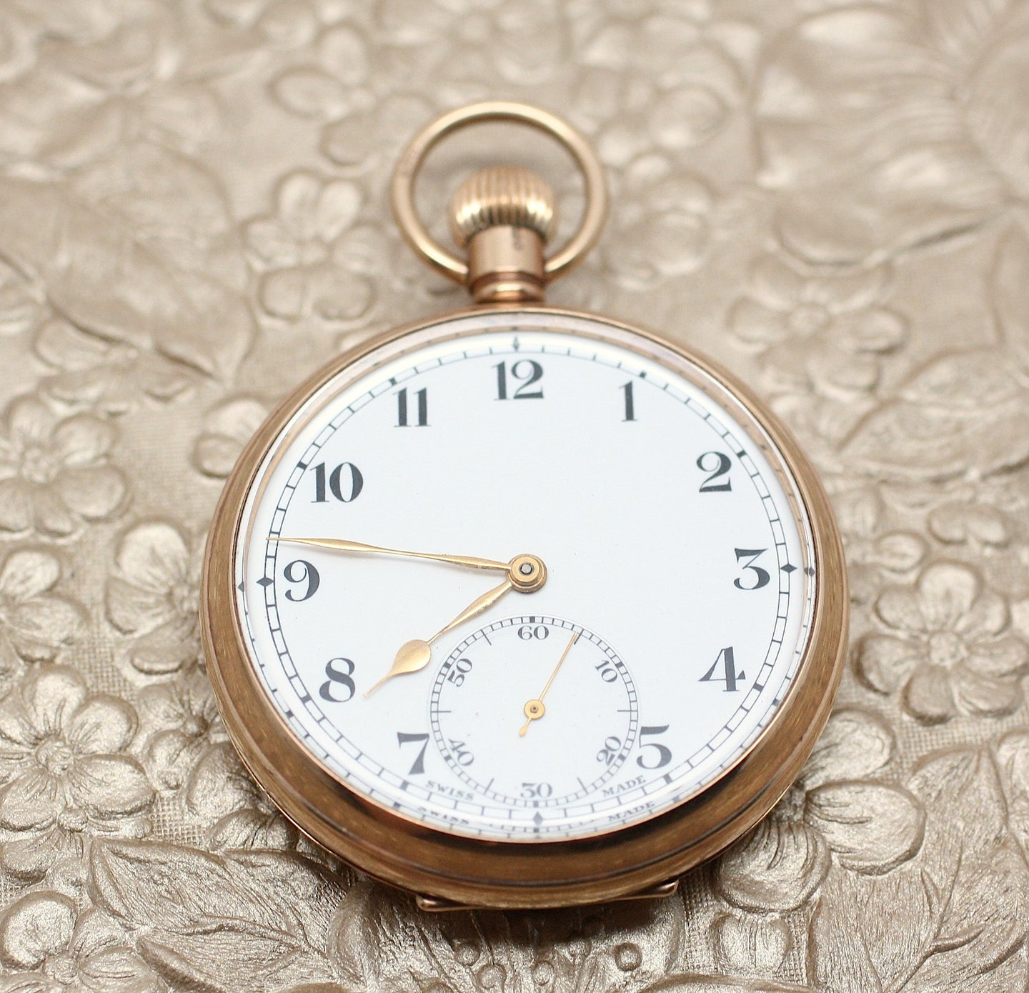 9K Birmingham England Pocket Watch