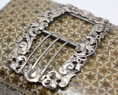 Victorian Sterling Buckle
