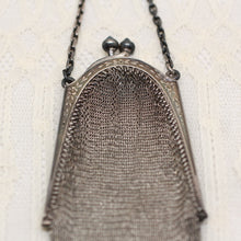 Circa 1890 Silver Finger Purse