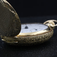1901 Omega Moon and Star Pocket Watch