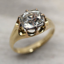 Circa 1890 18K Natural Zircon Ring