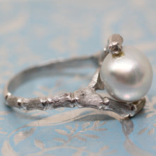 Circa 1970 14K South Sea Pearl Ring